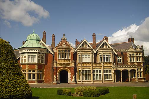 Bletchley Park, England